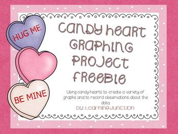 Valentine Candy Heart Graphing Freebie
