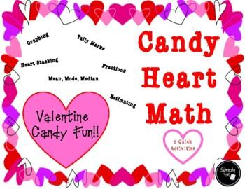 Valentine Candy Heart Math