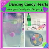Valentine Candy Heart Science:  A Density And Buoyancy Lab For Grades 2 and 3