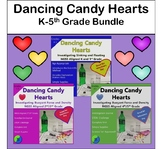 Valentine Candy Heart Science:  K-5th Grade Bundle On Sinking And Floating