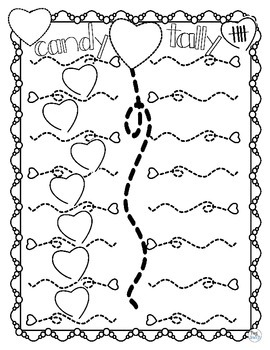 Valentine Candy Heart Tally * FREE *