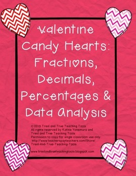 Valentine Candy Hearts: Fractions and Data Analysis