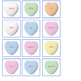 Valentine Candy Hearts- Words I know by Heart!