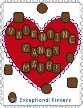 Valentine Candy Math!  A Valentine's Day Math Game Freebie