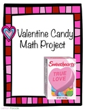 Valentine Candy Math Project