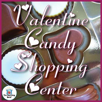Valentine's Day Money Math Center