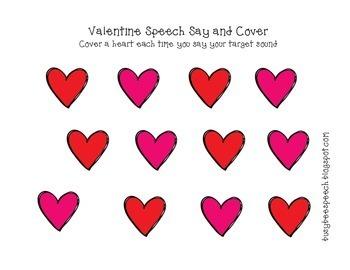 Valentine Candy Speech {Freebie}