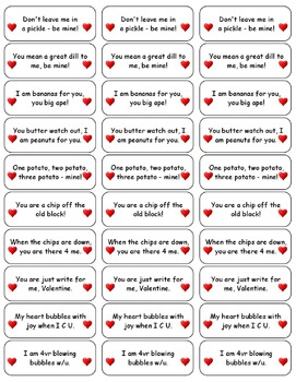 Valentine Candy Wrapper Stickers - Printable Valentine's Day Card Fun