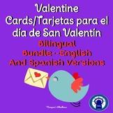 Valentine Card Bilingual Bundle