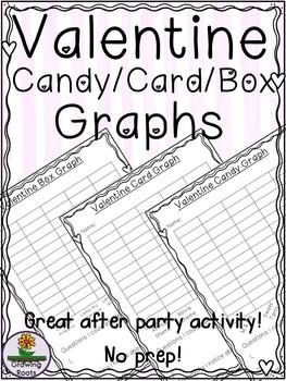 Valentine Card Candy Box Graphs