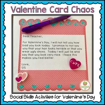 Valentines Day Social Skills Activities