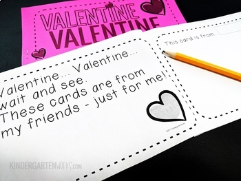 Valentine Card Collection Booklets (great for parties!)
