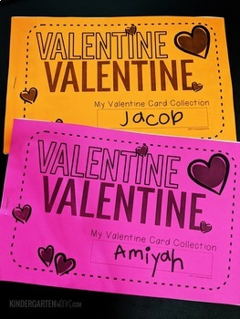 Valentine Cards Collection Booklets (great for parties!)