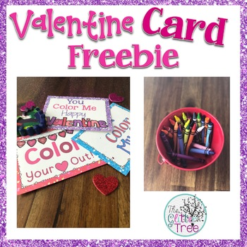 Valentine Card Freebie