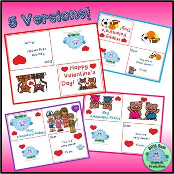 EDITABLE Valentine Card and BOOKMARKS To Students From Teacher FREEBIE