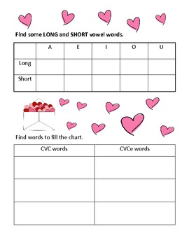 Valentine Card Word Safari by Lisa Buchholz