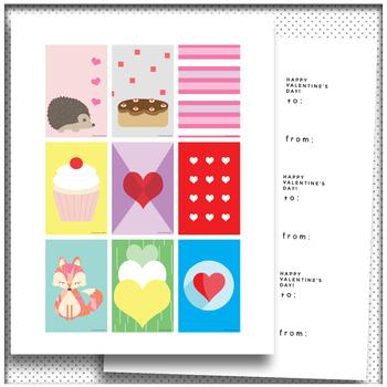 Mini Valentine's Day Cards