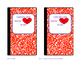 Valentine Cards (4 Fun Designs) Valentine's Day