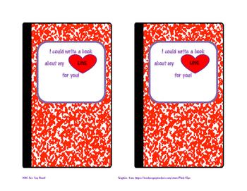 Valentine Cards (4 Fun Designs) Valentine's Day