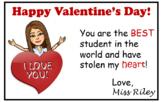 Valentine Cards Bitmoji (editable)