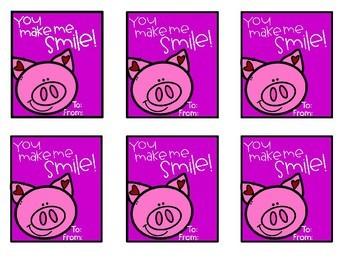Valentine Cards {Freebie}