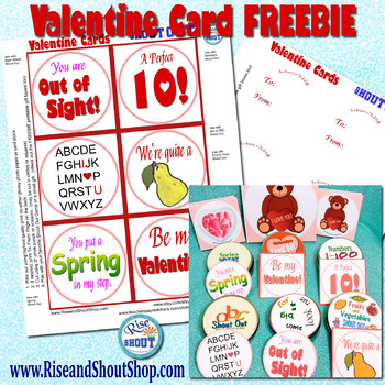 "Valentine Cards Freebie, 3"" circles or squares, FREE"