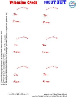 "Valentine Cards Freebie, 3"" circles or squares, FREE"