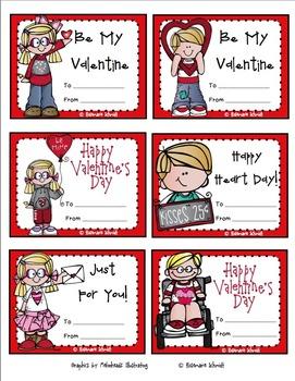 Valentine Cards K-5
