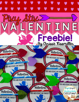 Valentine Cards- Pixy Stix Cupid Arrows