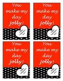"Valentine Cards ""You make my day jolly!"""