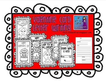Valentine Cards for Letter Writing