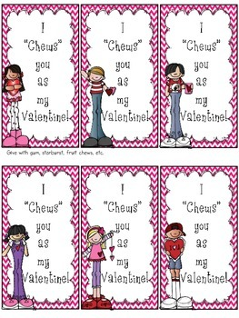 Valentine Cards for Students (freebie)
