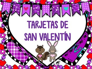 Valentine Cards in English and Spanish