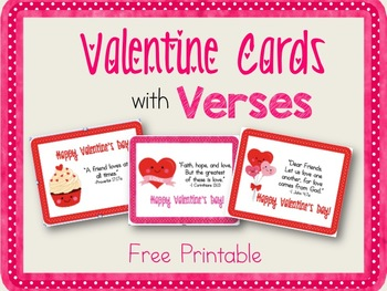 Valentine Cards with Verses