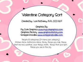 Valentine Category Sort