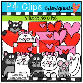 Valentine Cats (P4 Clips Trioriginals)
