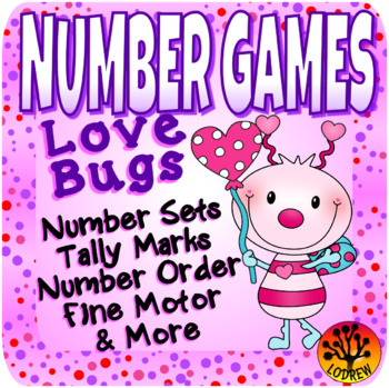 Valentine Centers Number Games Math Centers Valentine's Day Activities