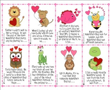 Valentine Chat: Conversation Starters and Story Starters