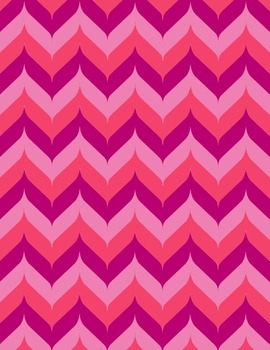 Valentine Chevron Backgrounds - 10-Pack