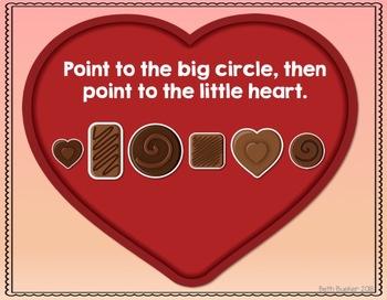 #FEB2018SLPMustHave Valentine Chocolate Comprehension