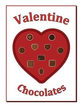 Valentine Chocolates Ten Frame Game