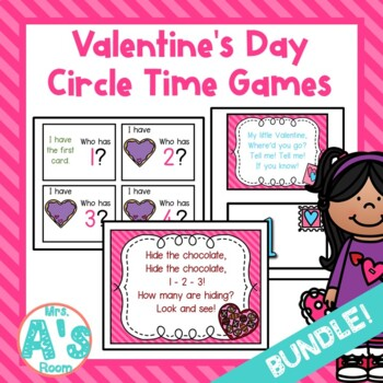 Valentine Circle Time Activities **BUNDLE**