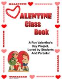 Valentine Class Book