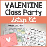 Valentine Class Party Setup Kit