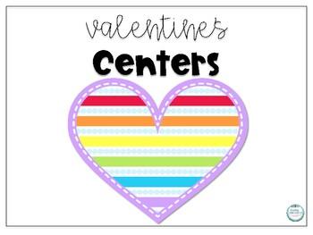 Valentine Classroom Centers