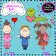 Valentine's Day Clip Art Bundle