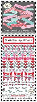 Valentine Clip Art Bundle - Save Big!