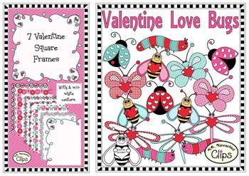 Valentine Clip Art Bundle - Save Big!