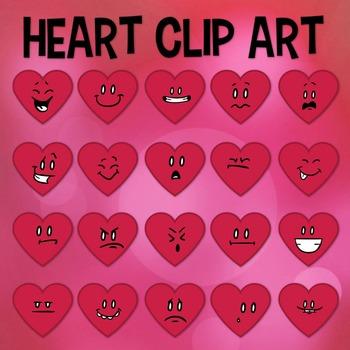 Valentine Clip Art, Heart Clip Art, Valentines Day School, Heart Emojis, Emoji