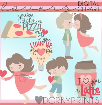 Valentine Clip Art Lovers